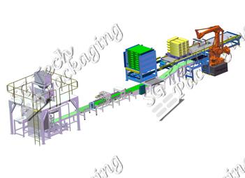 Automatic Fertilizer Bagging Line