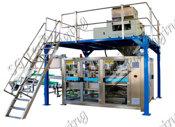 Pig Feed 40kg Packing Line