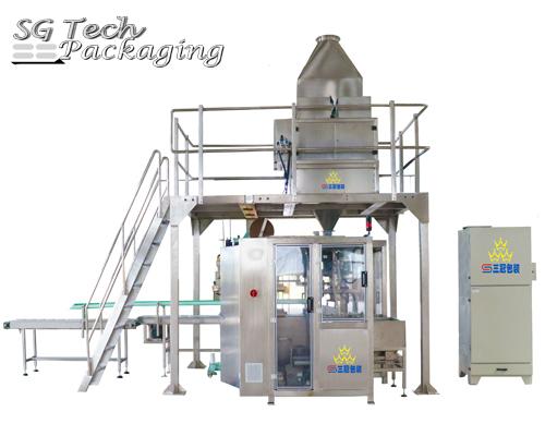 SGJ-ZDF Automatic Powder  Bagging Machine Line