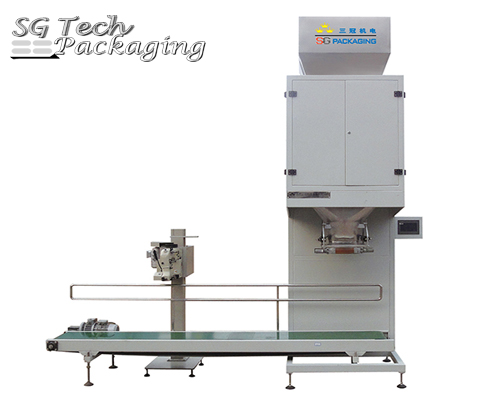 Semi-Automatic Double Hopper Weighing Packing Machine