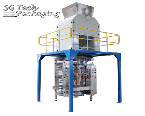 SGB780 Automatic PE Film Vertical Packaging Machine Unit