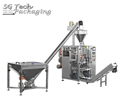 Automatic Vertical Powder Packing Machine Unit