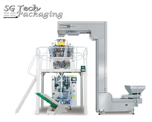 Automatic Vertical Granular Packing Machine Unit