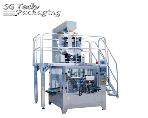 Pre-made Pouch Granular Rotary Packaging Machine